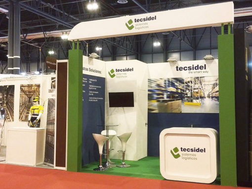 TECSIDEL at 2016 LOGISTCS & DISTRIBUTION fair in Madrid